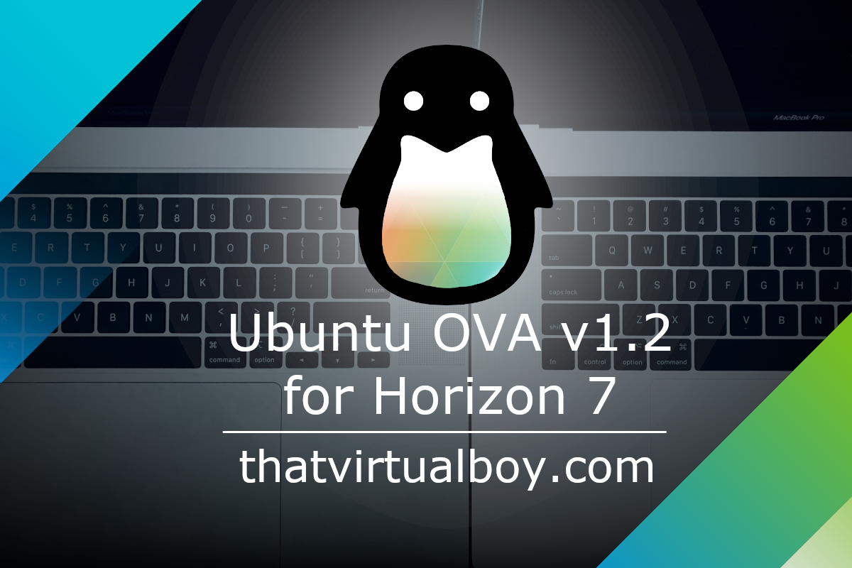 Ubuntu OVA update for Horizon 7 Now Available